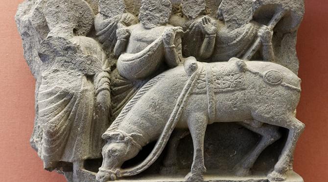 Buda'nın atı - KANTHAKA