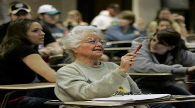 87 Yaşındaki kadın - rose