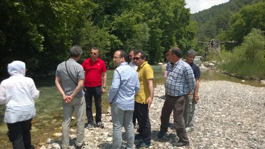 Dereköy HES'le ilgili açılan davanın bilirkişi incelemesi 27 Mayıs günü yapıldı