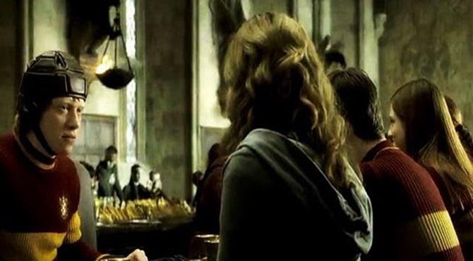 Harry Potter filminden bir görüntü