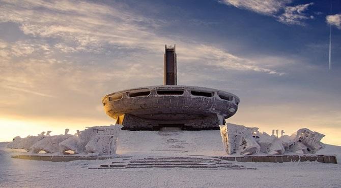 Terkedilmiş bir mekan: Komünist Dağı