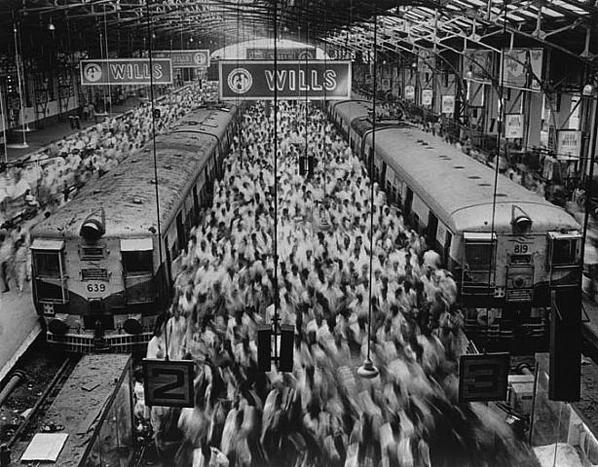 Hindistan - Bombay Tren İstasyonu