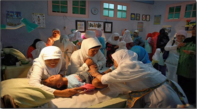 Sünnetli kadınlar