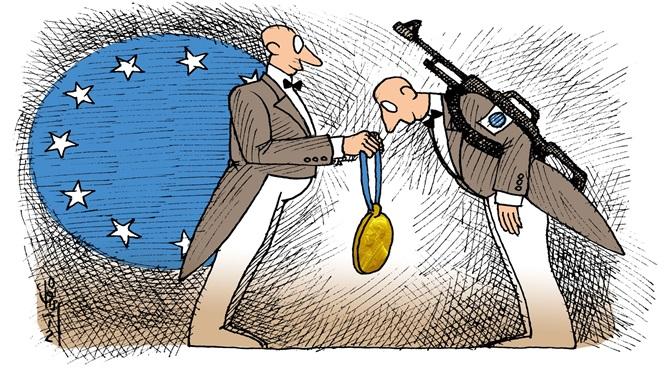 Işid'den petrol alana Nobel'den barış ödülü bedava