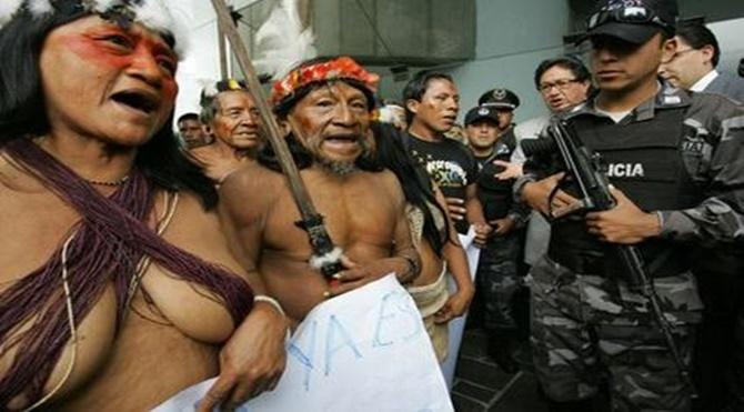 Ekvador'un Yerli Halkları