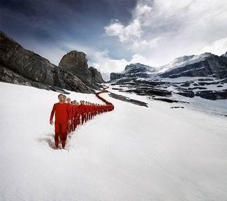 Alplerde Fotograf Düzenlemeleri