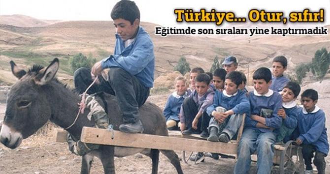 OECD raporuna göre Türkiye, eğitimde sonuncu