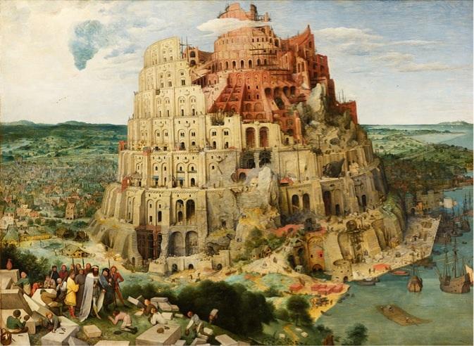 Babil Kulesi 1563 (Viyana versiyonu) 114 × 155 cm