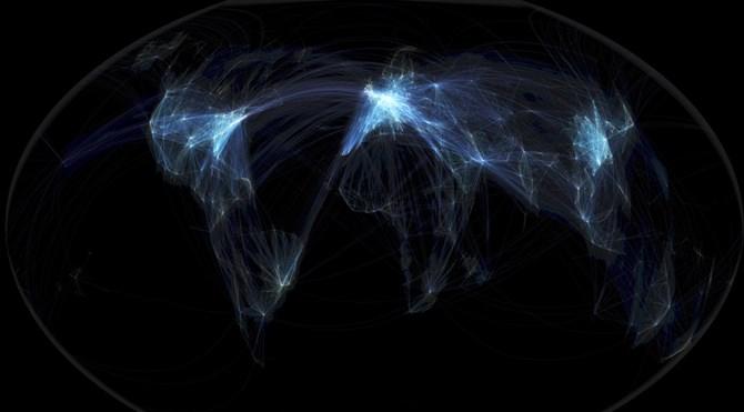 uçuş haritası