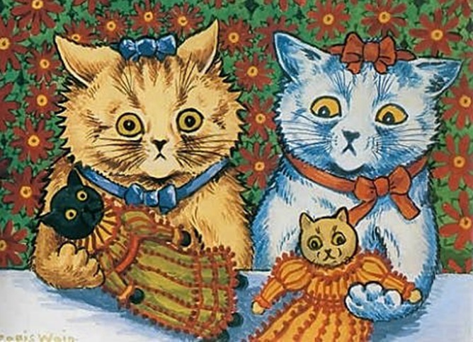 Louis Wain'in Kedileri