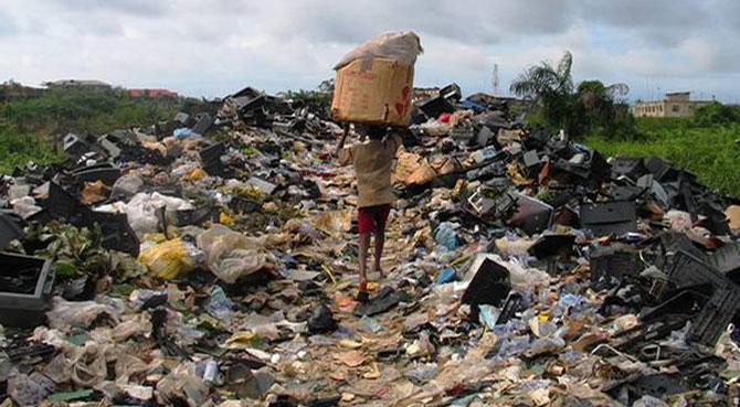 afrika, çöplük
