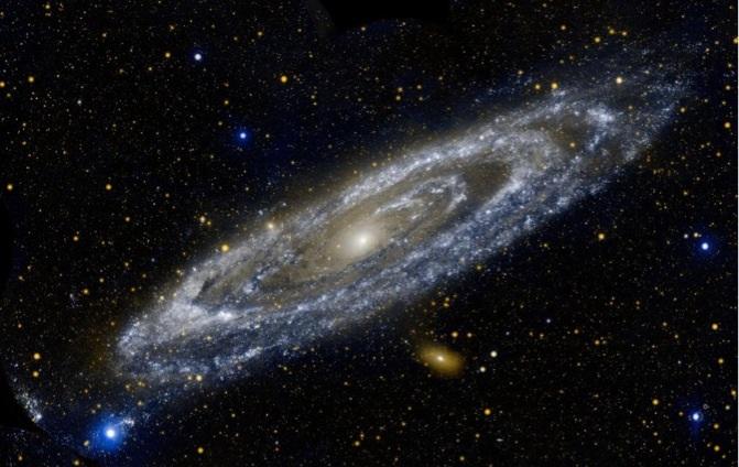 Andromeda, samanyolu galaksi