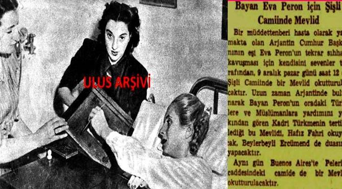9 Aralık 1951  Şişli Camii'nde okutulan mevlitin gazete haberi