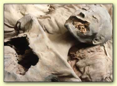 Krallar Vadisi'nde Nefertiti'ye ait olduğu sanılan mumya
