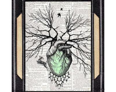 ağaçlı kalp