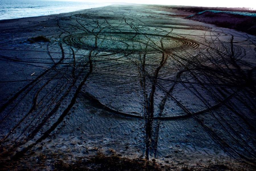 Döngüsel Sahil 46  Aynı adlı seriden (Spiral Shore), 2011. Shiga Lieko/Museum of Fine Arts, Boston
