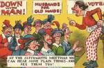 1900'lü yıllardan bazı çizimlerle kadın hakları