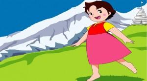 Heidi'nin ayakları neden çıplaktı?