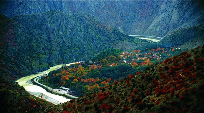 Artvin Oruçlu köyü öncesi
