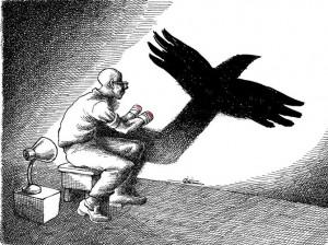 İranlı Karikatürist Mana Neyestani'den Düşündüren Kareler