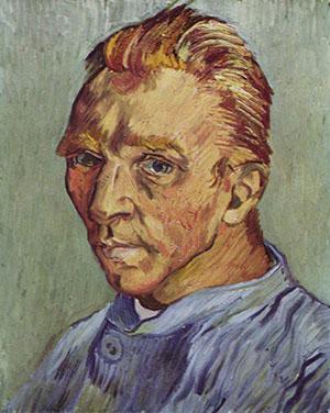 vincent-van-gogh-Self-Portrait Without Beard