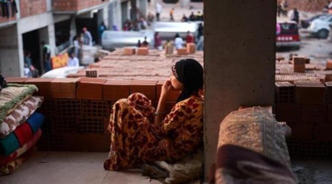 Suriyeli kadınlar ve Kilis'in dini bütün erkekleri