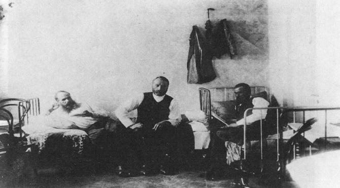Dostoyevsky (solda) -Haymarket - Mart 1874