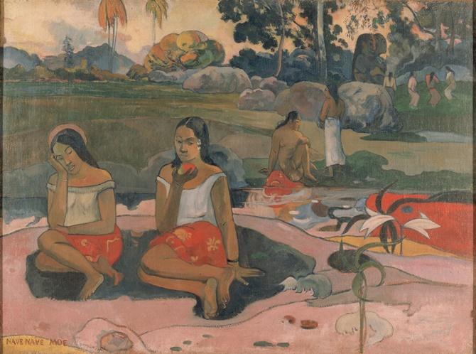 Gauguin,_Paul_-_Sacred_Spring,_Sweet_Dreams_(Nave_nave_moe)