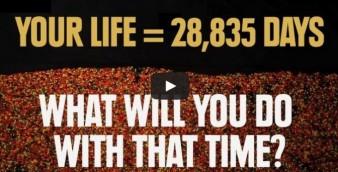 Hayatınız = 28,835 gün