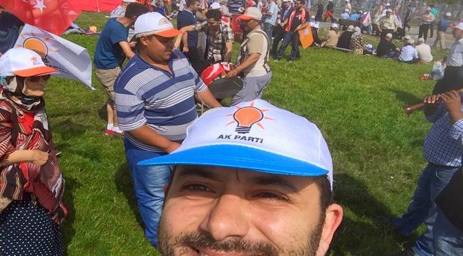 AKP Mitinginde Bir Çapulcu! – 2
