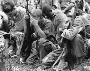 Vietnam War Mourning Dead