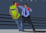 Dünyada Polislerin İnsan Haklarını Nasıl İhlal Ettiğini Gösteren Çizimler