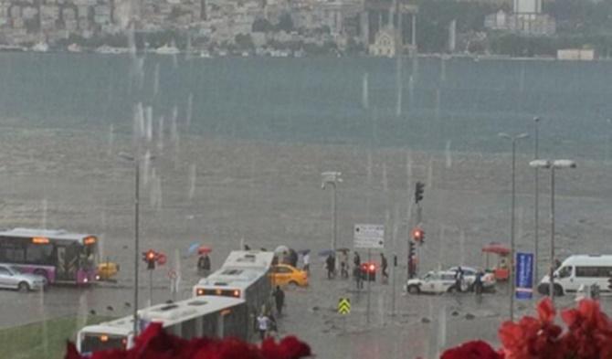 Geçtiğimiz bahar ayında yaşanan İstanbul'da yaşanan sel