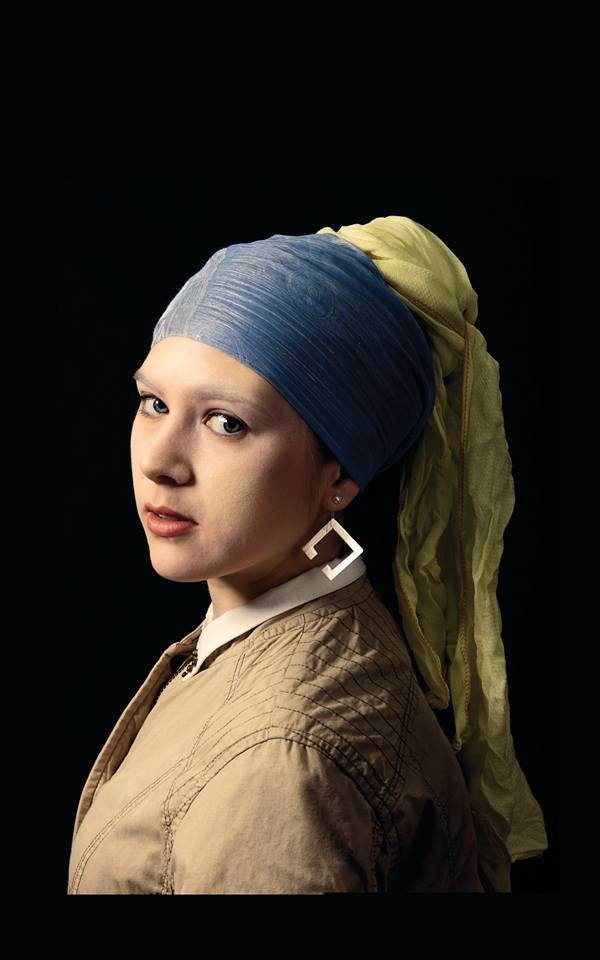 Girl With Pearl Earring – by Johannes Vermeer / Sanem Bakan