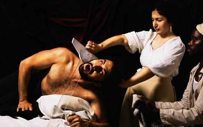Judith and Holofernes – by Caravaggio / Fırat Bakır, Bersu Tekin, Debric Ogwal