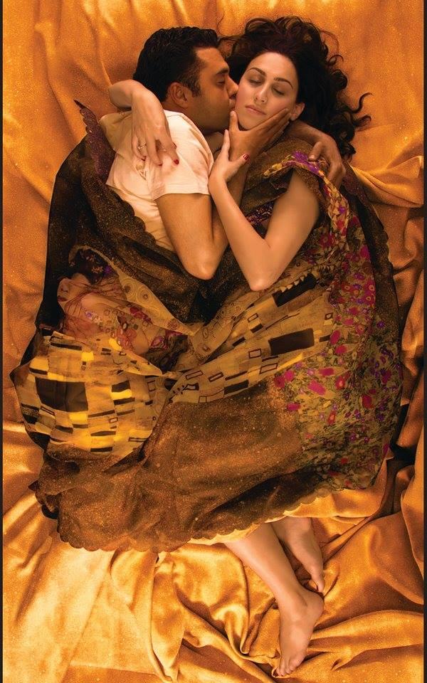 Kiss – by Gustav Klimt / Orkun Kalonya, Dalya Hazar