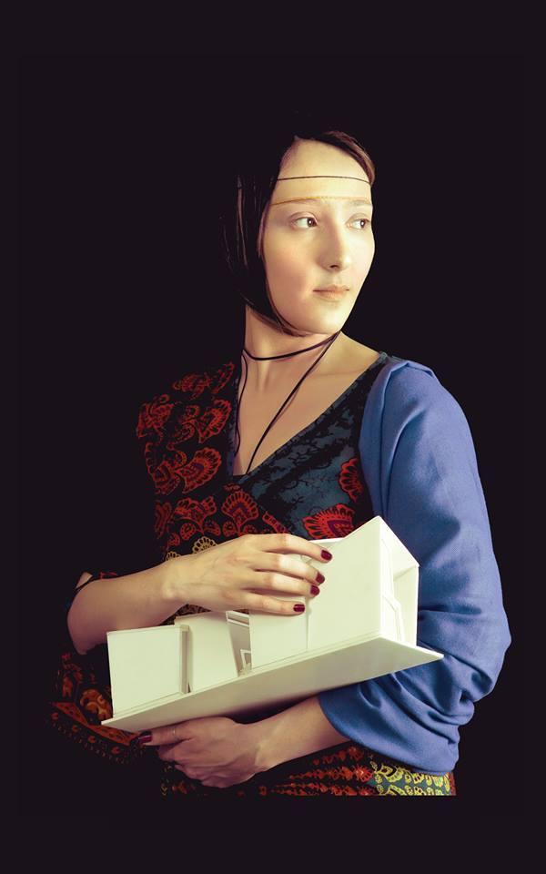 Lady With an Ermine – by Leonardo da Vinci / Müge Yüksel