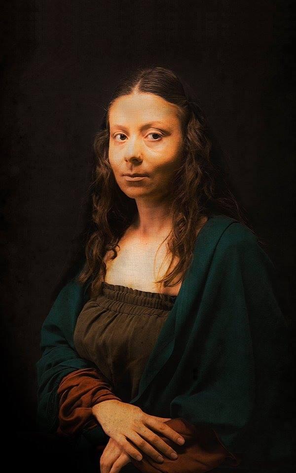 Mona Lisa – by Leonardo da Vinci / Evren Ülkeryıldız