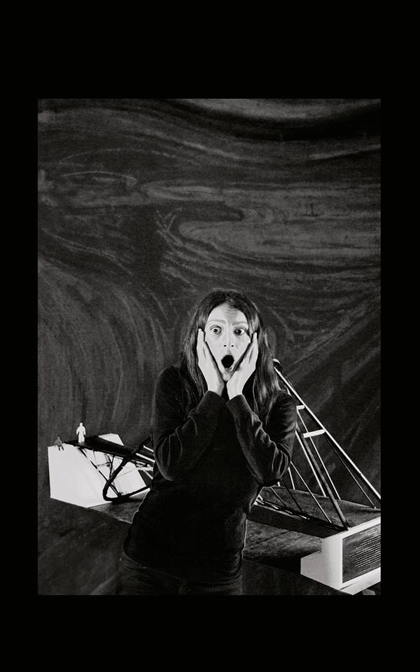 Scream – by Edvard Munch / İrem Fulya Demetoğlu
