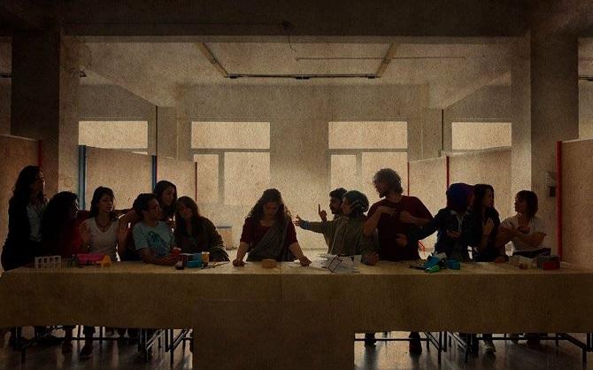 The Last Supper – by Leonardo da Vinci / Funda Güller, Kübra Arı, Hatice Ersoy, Beste Çırak, İpek Sözügüzel, Beyza Erdöl, Murat Akay, Sadiye Akkılıç, Bersu Tekin, Sena Kırmız, Gizem Elbiz, Ömer Coşkun, İdil Ece Şener, Mansur Turasan
