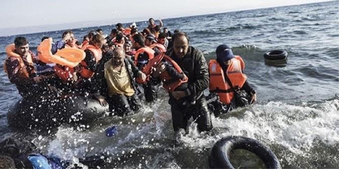 Mülteci Midilli adası