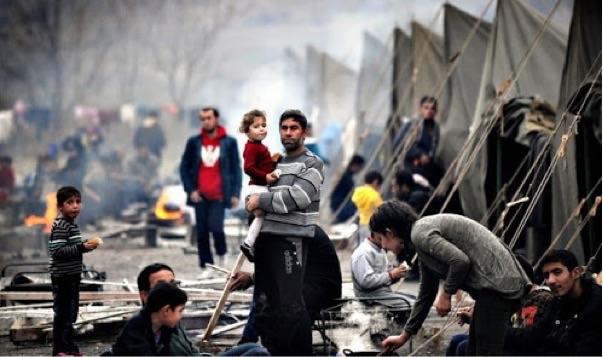 Savaş mülteci kampları