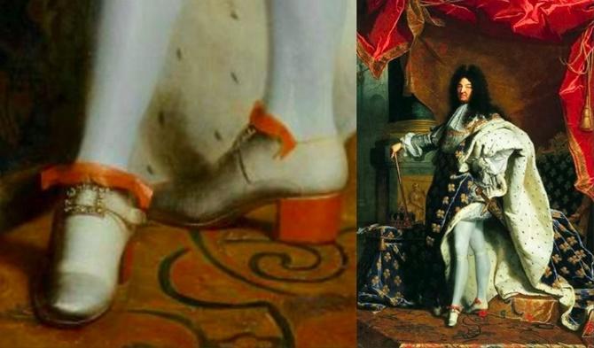 XIV. Louis_topuklu_ayakkabı