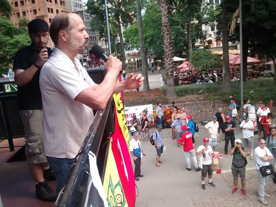 erol anar, dunya sosyal forumu açilisi porto alegre