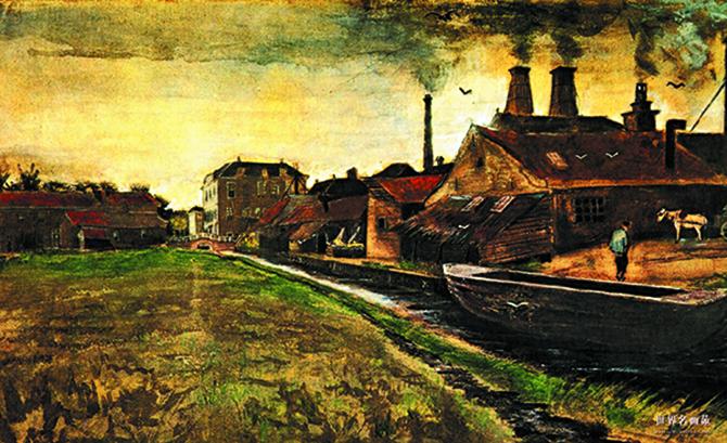 Van Gogh - Belçika Madenciler