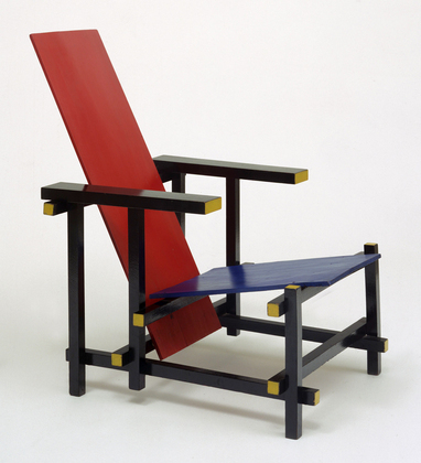 Gerrit Rietveld - ' Red Blue Chair'
