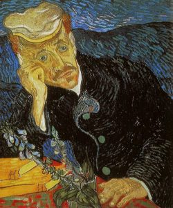 "Vincent Van Gogh'un ""Portait of Dr. Gachet"" eseri"