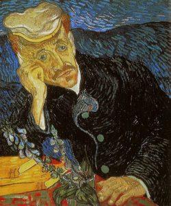 """Vincent Van Gogh'un """"Portait of Dr. Gachet"""" eseri"""