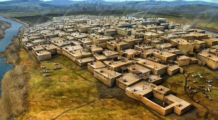 çatalhöyük  Çatalhöyük İle Tanışın; Tarihin İlk Şehri  C3 A7atalh C3 B6y C3 BCk