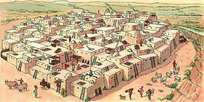 çatalhöyük_şehir_city  Çatalhöyük İle Tanışın; Tarihin İlk Şehri  C3 A7atalh C3 B6y C3 BCk  C5 9Fehir